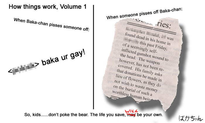 Don't poke the bear.